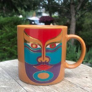 Vintage Laurel Burch Machado coffee mug